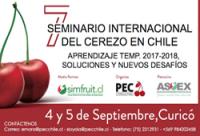Seminario Internacional del Cerezo en Chile