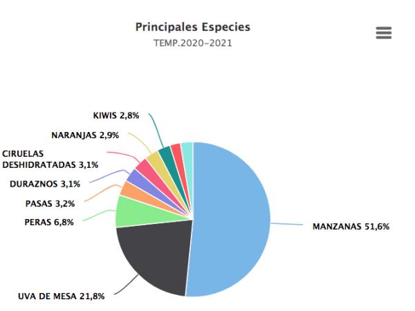 Crecen 47% exportaciones de frutas chilenas a Guatemala esta temporada